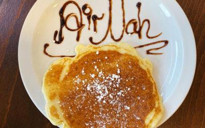 Neu: Pancakes beim Frühstücksbuffet