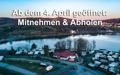 Ab dem 4. April 2020: Abholen und Mitnehmen